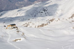 Plateau of the Pale di San Martino Stock Images