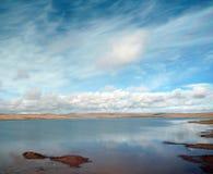 plateau piękny jeziorny tibetan Zdjęcia Stock