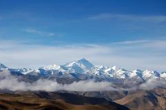 Plateau qinghai-Tibet Stock Foto