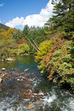 Plateau river in autumn Royalty Free Stock Image