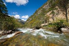 Plateau river landscape Royalty Free Stock Photo