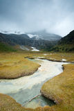 Plateau river  in sichuan of china Stock Photography