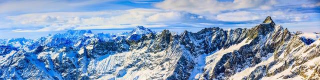 Plateau Rosa in Cervinia ski resort. Stock Image