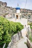 Plateau rosa di Saiq di coltivazione della moschea Fotografie Stock
