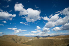 Plateau scenery in autumn,tibet,china Stock Images