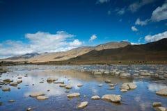 Plateau scenery,daocheng,china Royalty Free Stock Image