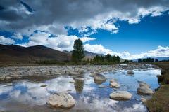 Plateau scenery,daocheng,china Royalty Free Stock Images