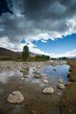 Plateau scenery,daocheng,china Royalty Free Stock Photo