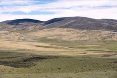 Plateau scenery Royalty Free Stock Photo
