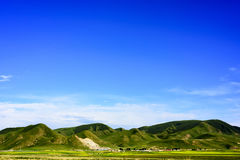 The plateau scenery of the Qinghai - Tibet plateau & x28; in Qinghai province of China & x29;. The Qinghai - Tibet plateau & x28; in China& x27;s Qinghai Royalty Free Stock Image