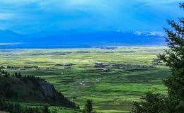 Plateau scenery Stock Photography