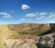 Plateau Shalkar-Nura, Kazakstan Obraz Stock