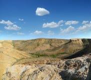 Plateau Shalkar-Nura, Kazakstan Immagine Stock