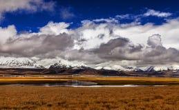 Plateau of the sky grassland Stock Photo
