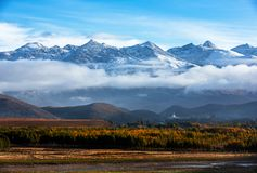 Plateau snow mountain in western Sichuan Plateau royalty free stock photography