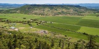 Plateau superiore della roccia della Tabella nell'Oregon del sud immagine stock libera da diritti