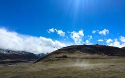 plateau tibetan Obrazy Stock