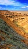 Plateau Ustyurt di Kanyon Fotografia Stock Libera da Diritti