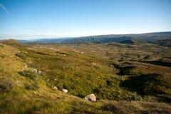 Plateau Valdresflye, Jotunheimen de montagne Photo stock