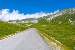 Plateau van Campo Imperatore - Big Horn Royalty-vrije Stock Afbeeldingen