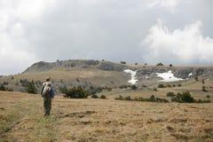 Plateau van de Krimbergen Stock Foto