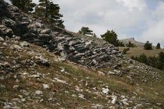 Plateau van de Krimbergen Royalty-vrije Stock Afbeeldingen