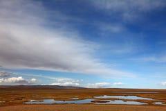 Plateau wetland Stock Photography