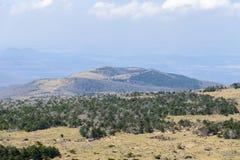 Plateau widok od Witse-Oreum w Yeongsil Zdjęcia Royalty Free