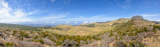 Plateau widok od Witse-Oreum w Yeongsil Obrazy Stock