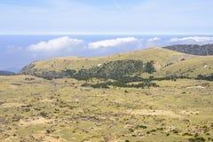 Plateau widok od Witse-Oreum w Yeongsil Obraz Stock