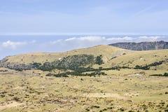 Plateau widok od Witse-Oreum w Yeongsil Zdjęcia Stock