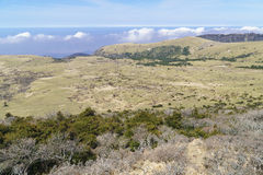 Plateau widok od Witse-Oreum w Yeongsil Fotografia Stock