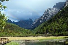Plateaubergen Royalty-vrije Stock Afbeeldingen
