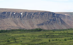 Plateaus in Newfoundland Stock Foto's