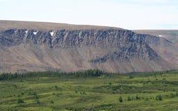 Plateaux dans Terre-Neuve Photos stock