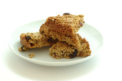 Plated Flapjacks Royalty Free Stock Image