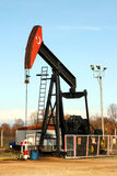 Plateforme pétrolière photo stock