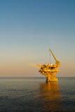 Plateforme pétrolière Images stock