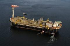 Plateforme pétrolière P67 photo stock