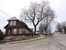 Plateliai town, Lithuania Stock Images