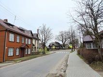 Plateliai town, Lithuania Royalty Free Stock Photo
