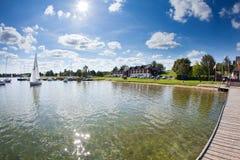 Plateliai Yacht Club, Plateliai, Lithuania royalty free stock image