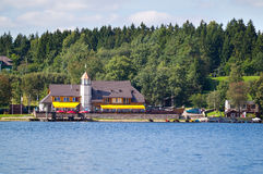 Plateliai Yacht Club in Plateliai, Lithuania Stock Photos