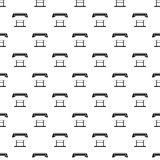 Platen for printing machines pattern, simple style Royalty Free Stock Photography