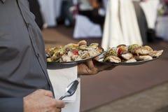 Platen van voedsel Stock Foto's