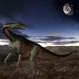 Plateosaurus-3D Dinosaur Royalty Free Stock Photo