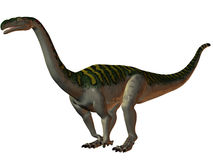Plateosaurus-3D Dinosaur Royalty Free Stock Photos