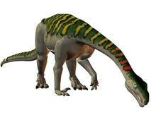 plateosaurus för dinosaur 3d Arkivfoto