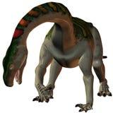 plateosaurus för dinosaur 3d Arkivbild