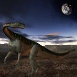 plateosaurus för dinosaur 3d Royaltyfri Foto